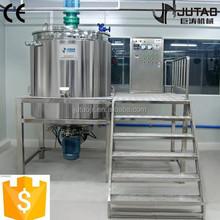 Daily product emulsifying liquid detergent processing plant liquid soap machine