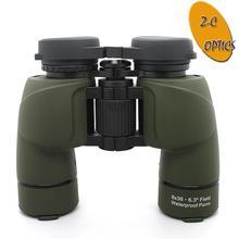 De larga distancia binoculares 12- 0836- i- verde caza prismáticos