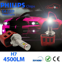 Qeedon excellent pricing canbus led hb4 car headlight booster with philips bulb