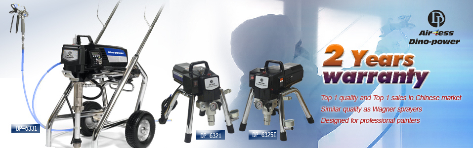 DP63 electric airless paint sprayer with 2 years warranty