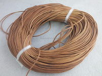 A-3292 1.5mm 100m/roll genuine leather cord jewelry cord