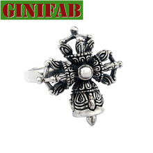 2015 personalized ring 925 Thai silver four fell monsters bell rings