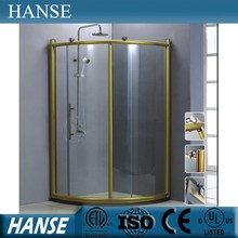 HS-SR822 corner prefab 8mm tempered glass beautiful shower enclosures