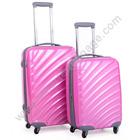 Puro ABS 3 peças conjunto bagagem Trolley com rodas rotadores