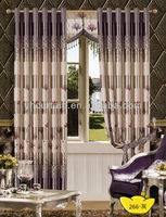 new style duplex printing fabric curtain 2013