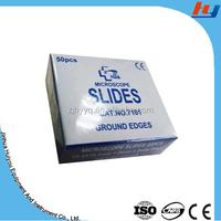 Fine ground edges standard Microscope glass slides