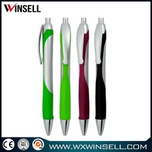 advertising cheap ballpoint plastic pen for school and office