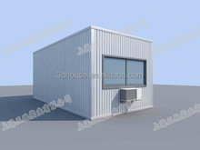 SANDI low cost portable sea container house ,foldable cabin