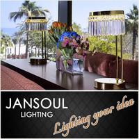 zhongshan jansoul lighting antique crystal chandelier modern table lamp
