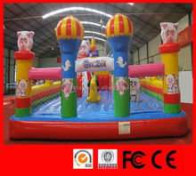 custom giant inflatable water slip slide inflatable bouncy sports inflatable fun city
