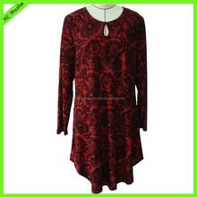 Wholesale chiffon printed clothing fashion moroccan jalabiya and kaftan