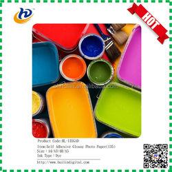 inkjet photo paper glossy waterproof sticker photo paper 135g