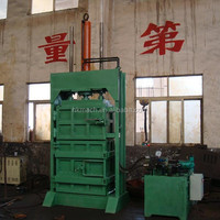 popular manual hydraulic baler for waste paper