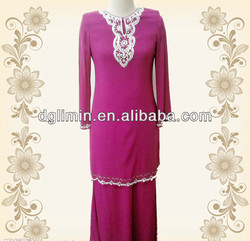 fashion design baju kurung for wholesale B7118#