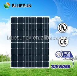 TUV CE ISO UL certificates best quality mono 200wp pv solar modules