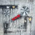 2014 nuevo diseño hecho a mano moderna del arte pop pintura al óleo