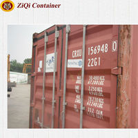 Dry Container Type and 20' Length (feet) 20 ft used shipping container for sale used