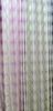 Villa luxury flower design satin stripe home curtain