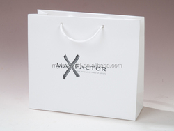 Foldable shopping paper bag raw materials of paper bag