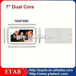 7 Inch mini RK3026 Dual Core,1024*600 screen,tablet pc rock chip