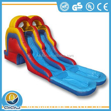 2015 cheap good quality toys for kids inflatable amusement park inflatable water slides china