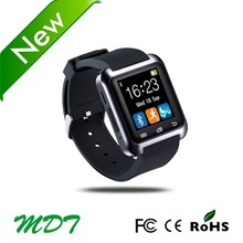 support call/ sms pedometer heart rate monitor android/ios wear smart watch