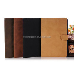 Luxury Elegant Retro Magnetic Smart Turnover Leather Cover Case for iPad 2/3/4