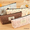 School Pencil Case For Girl Hot Sale Canvas Stationery Bags Wholesale