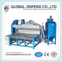 JF2000 Horizontal glass dry sandblasting machine/machine sandblaster
