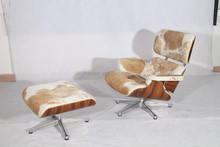 charles eames chair cowhide eames lounge chair with ottoman reproduction