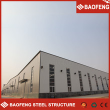 customized security 50 years service life steel structure workshop