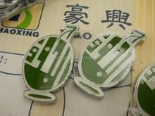 Bespoke fashion accessory green Christmas ornaments in bulk made in Shishi