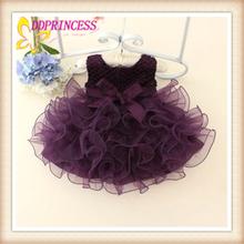Llegaron nuevos de fábrica de venta directa de corta baratos dressses hinchada para los niños, las niñas vestidos hinchados