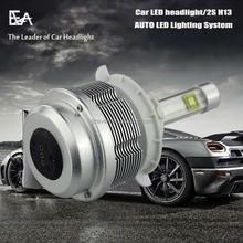 Free shipping 100% Genuine of ETI 2 PCS led bulb lamp car headlight for all cars 3000k 5000K 6000K With Beautiful box packing