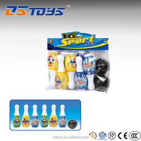 Great quality boy toy plastic bowling pins set for sale