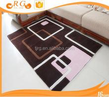 bedroom fashion custom soft exhibition antislip quality rug