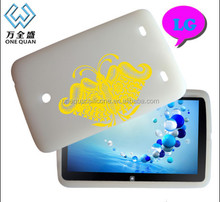 Factory direct sale lovely soft silicone protective kids case for Ipad