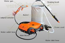 Portable high pressure car washer cleaner