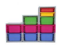 NEW design 120l plastic multi storage box bin