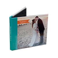 China colored wedding DVD case 4 panel digipak DVD packet service