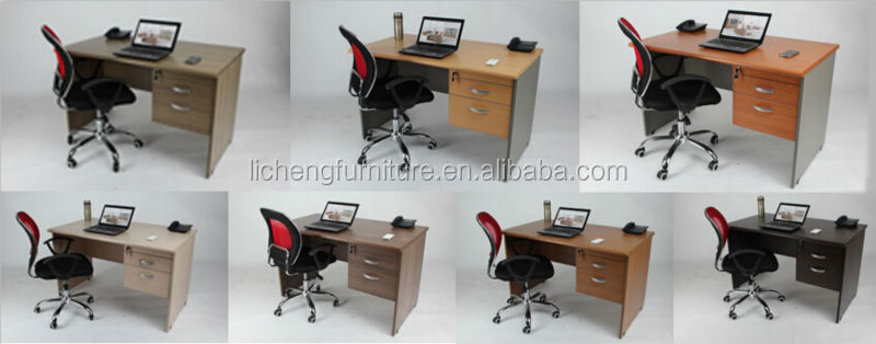 Simple design office tables /easy assamble office furniture