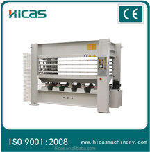 5 layers 120 ton Veneer lamination MDF heat press machine