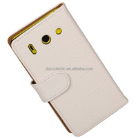 Bulk buy from china leather wallet mobile accessories cell phone case for HUAWEI G510