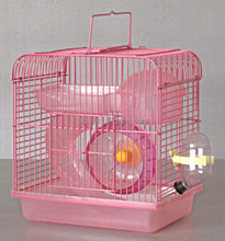 Hamster Cage, Pet Products Hamster Haven, pink 012