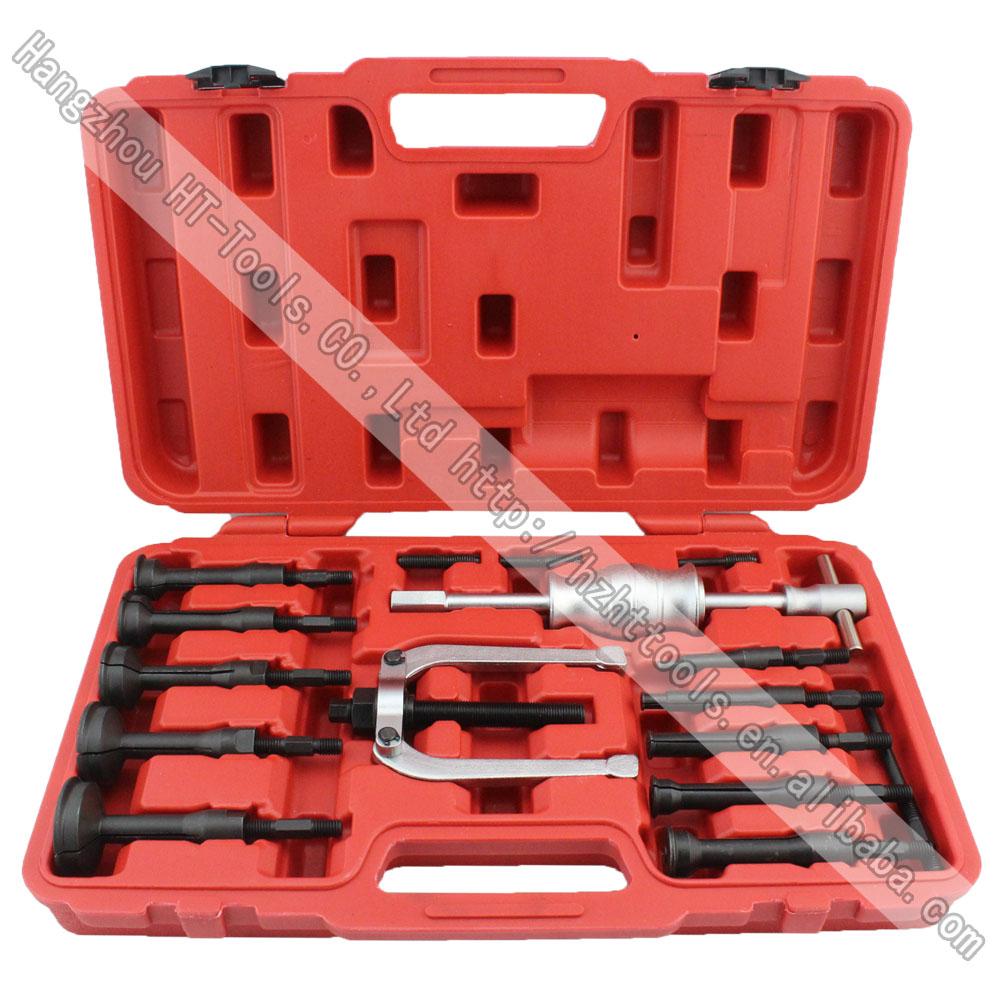 Blind Bearing Puller Kit : Piece universal blind hole bearing puller kit with