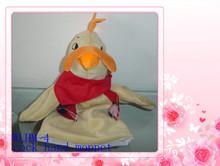 new design!soft animal cock hand puppet 25cm