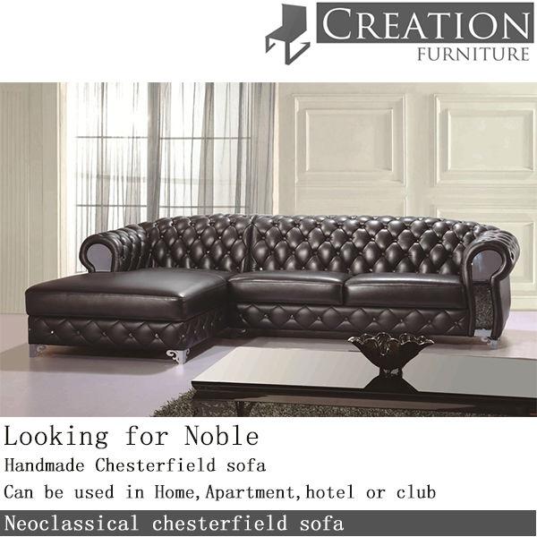 Classic Chesterfield Sofa Neoclassical
