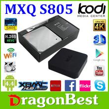 Two Year Warranty Mx/Mxq Android 4.4 Quad Core Tv Box 1G/8Gb Full Hd 1080P Full Xbmc Media Player Andriod Tv Box