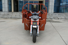 Open body 3 wheel gas motor tricycle made in China