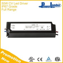 IP67 Waterproof 50W 12V Constant Voltage Led Driver with CE Certificate